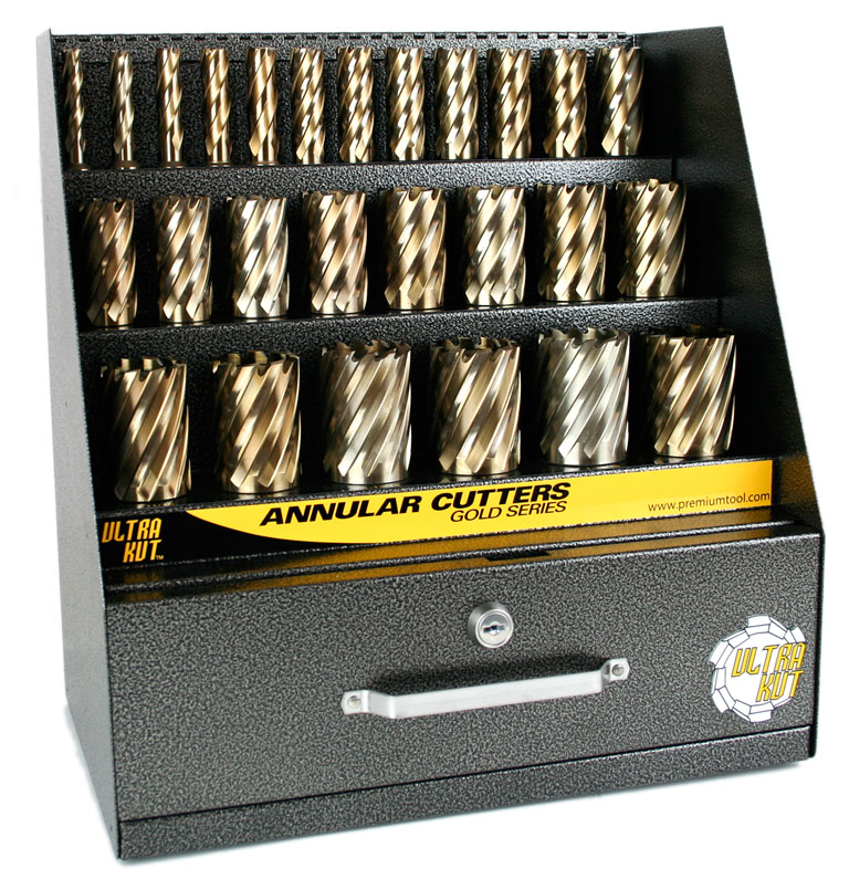 Gold Series Annular Cutter Display